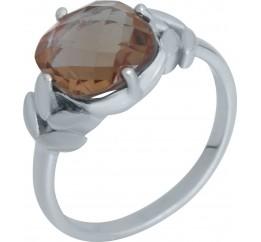 Серебряное кольцо SilverBreeze с Султанит султанитом 3.425ct (2007494) 19 размер