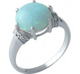 Серебряное кольцо SilverBreeze с опалом 2.555ct (1999226) 17 размер