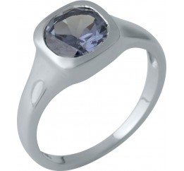 Серебряное кольцо SilverBreeze с александритом 2.538ct (1989203) 17.5 размер